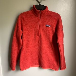 Patagonia Better Sweater 1/4 Pull Over Medium